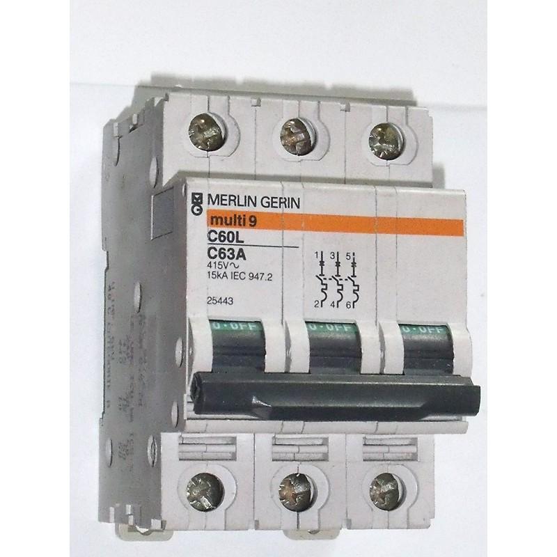 Multi 9 c60l 63 a merlin gerin 25443 occasoutils - Merlin gerin multi 9 ...