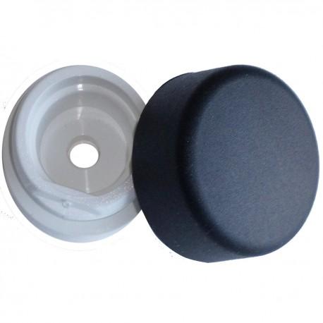 Butoir de porte nylon Noir (la pièce)