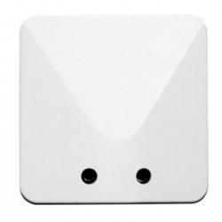sortie de cable 20 32a 100x100mm blanc fixation vis l 39 ebenoid 0254. Black Bedroom Furniture Sets. Home Design Ideas