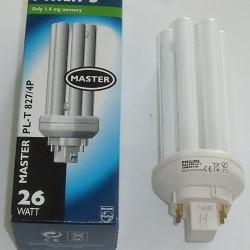GX24q-3 - PHILIPS MASTER PL-T 827 26w 4pins