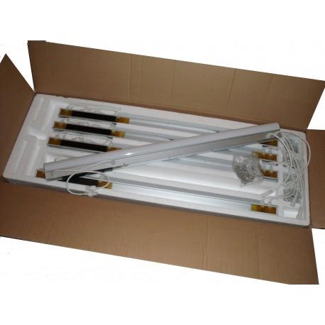 TUBES LED DMX RVB LB-LN-MC-DIA50-240V 100cm (lot de 20 tubes)