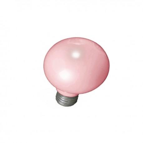 LAMPE E27 BALLON ROSE INCANDESCENT 100 W GIRARD SUDRON 016075