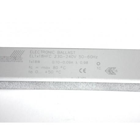 BALLAST ELECTRONIQUE 1x18W Gradable HELVAR EL1x18HFC