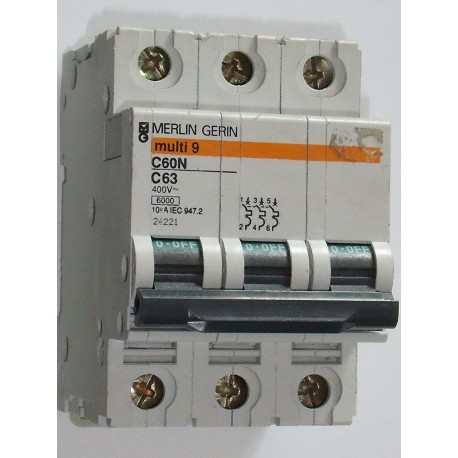 MERLIN GERIN - Multi 9 C60N 63 A