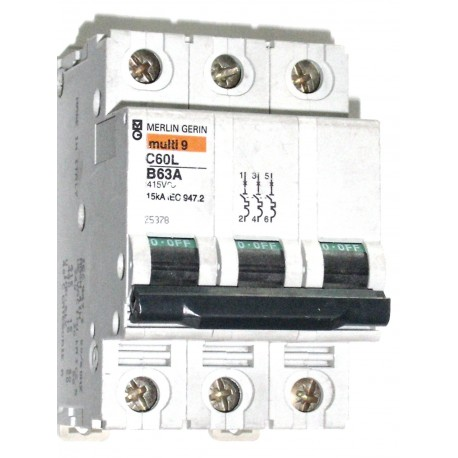 MERLIN GERIN - Multi 9 C60L 63 A