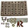 bornier répartiteur Polybloc - 4P - 160 A MERLIN GERIN 07100 (Boite de 8 borniers)