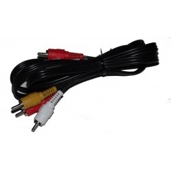 CABLE AUDIO VIDEO RCA M/M 3 metres