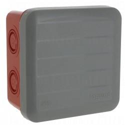 Boite de dérivation étanche 80 x 80 x 45 mm Plexo Legrand 092009