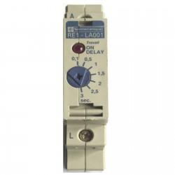 TELEMECANIQUE TEMPORISATEUR TRAVAIL 0.1 a 3s 24/240V AC/DC