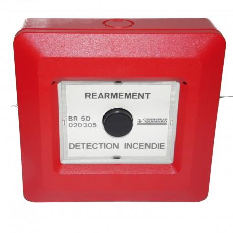 BOITIER DE REARMEMENT ALARME INCENDIE BR 50