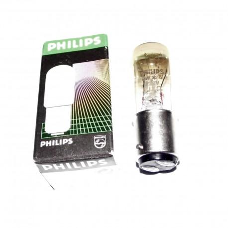 PHILIPS BA15D LAMPE A FILAMENT 15W 230V
