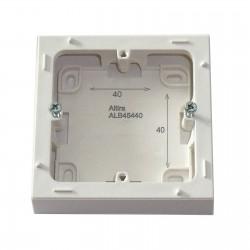 Boîte de montage saillie profondeur 40 mm Schneider Altira ALB45430