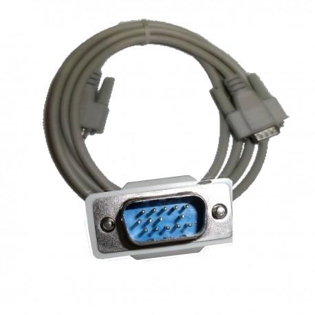 CABLE VGA MALE-MALE HD15