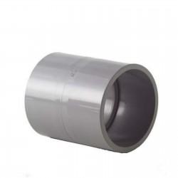 Manchons égaux PVC-U métrique 63