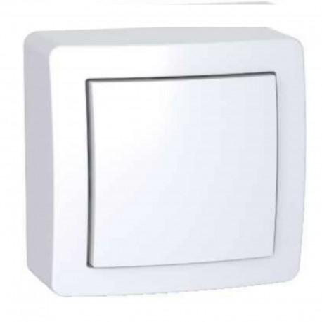 Obturateur avec cadre saillie blanc Alréa ALB62420P