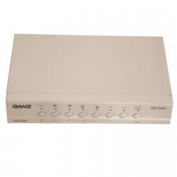 Commutateur vidéo Quad numériques pour les systèmes N/B et coul QD-04P