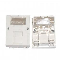 PLASTRON 45x45 1 RJ45 7720 ou 7721