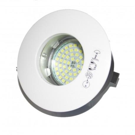 KIT HIDRO LED Spot à encastré pour pièces d'eau avec lampe Led 5W