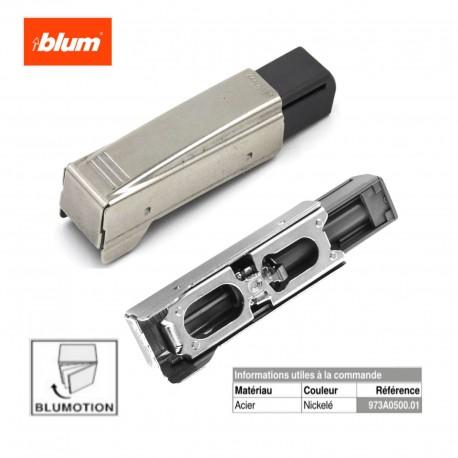Amortisseur pour tiroir BLUMOTION 973A CLIP TOP à clipser