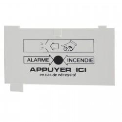 """Membranes plastiques avec marquage """"ALARME INCENDIE"""" DMM 2000 - 80140"""