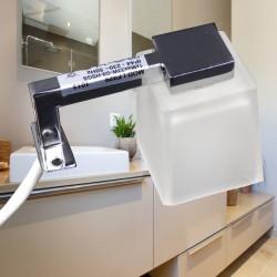 Applique halogène pour miroir salle de bain ip44 (Lot de 2)