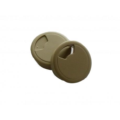 HAFEL PASSE CABLE Diametre 60 IVOIRE ( Lot de 10 pièces)