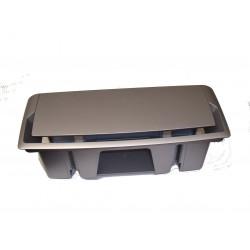 RANGE-CABLE Couleur Gris Aluminium