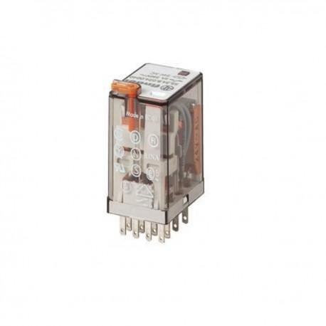 FINDER RELAIS 48V AC 4R/T + LED
