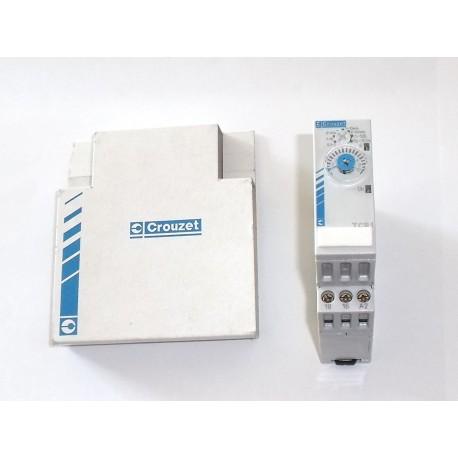 CROUZET relais temporises tcr1 0.1s a 100h