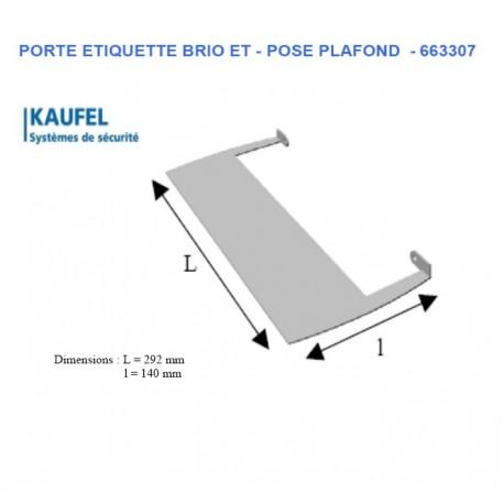 PORTE ETIQUETTE PLAFOND 663307